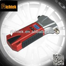 Multi-function RCG-T06A digital air pressure gage/pressure gage for Car tires