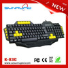 Programmable multimedia type USB gaming keyboard gamer keyboard