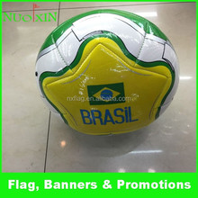 2015sell fast customized pvc/pu football printing the famous football player names