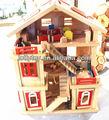 el bebé de madera casa de muñecas muebles