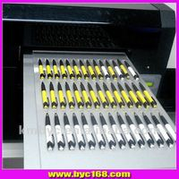 A3 desktop uv led flatbed printer multifunctional for printing pen, glass, metal, pvc card, t-shirt, phone cases 5760 * 1440 dpi