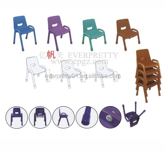 Colorful enfants meubles de chaise d'enfant pour la maternelle