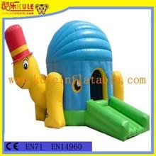 Giant tortoise model cheap inflatable bounce jumper for kids