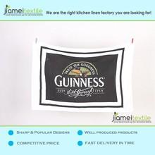100% Cotton Printed Promotional Tea Towel Dish Towel