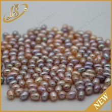 wholesale rice natural pearl loose type freshwater pearl