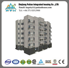 multi-story china prefabricated steel structure modular apartment