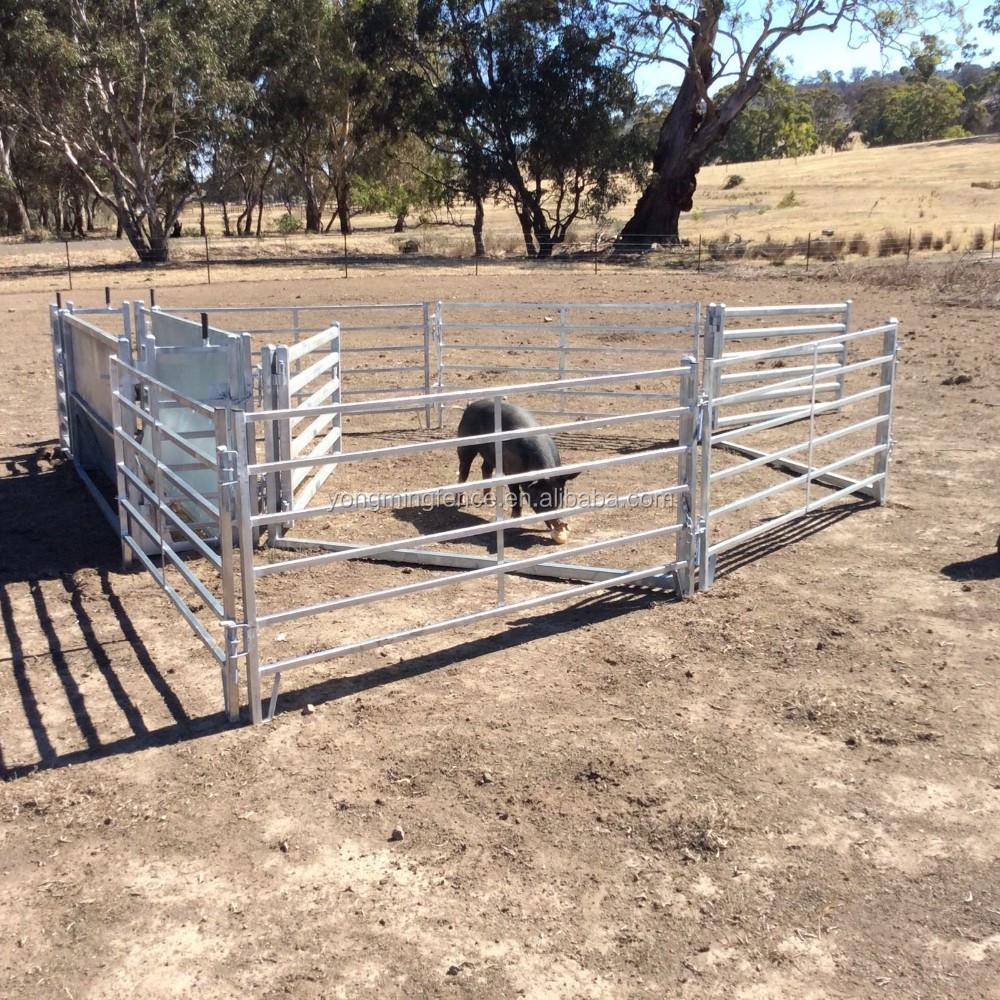Low Cost Sheep Yard Panels Galvanized Sheep Yard Panels