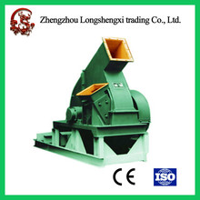 Automatic industrial wood drum chipper