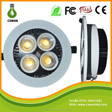 2015 New Products Modern Led Ceiling Light Design 20W Recessed Cob Led Downlight