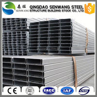 Low Price For Gi C Purlin C Section C Channel Steel Frame