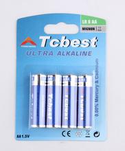 High Capacity best price rocket lr6 alkaline aa battery