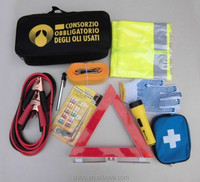 Car Emergency kit;auto safety kit; first aid kit for car and motorcycle
