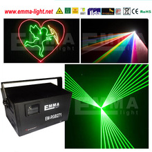 Full colour RGB laser light dmx512 control stage lighting effect night club disco home party show