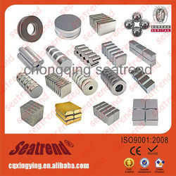 Strong N35,N38,N40,N42,N45,N48,N50,N52 Ring, Round, Block, Ball, Cylinder Permanent Rare Earth N52 Neodymium Magnet
