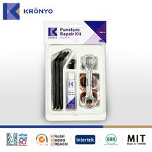KRONYO tire repair kit radial tire repair patch hand tool set