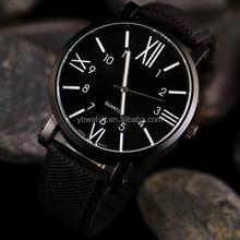 2015 sell well market fashion dom half-Roman and half-Arabic dial watch