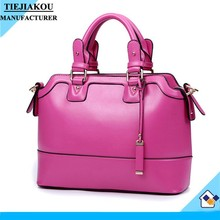 Alibaba china lady leather handbag designer women hand bags wholesale