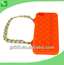 2012 hot selling Silicone mobile phone case for iphone5