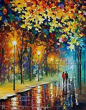 hand painted landscape oil painting natural scenery painting on canvas
