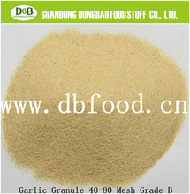 Dried granulated garlic from shandong factory from factory
