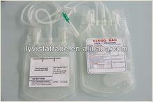 cheap disposable double blood bags in China