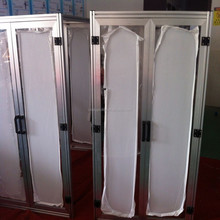6063T5 T slot extrusion powder coated aluminium profile frame for window and door