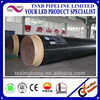 Direct Factory Customize High Quality HDPE Coated Polyurethane Foam Filled Direct Buried Insulation Pipe With Competitive Price