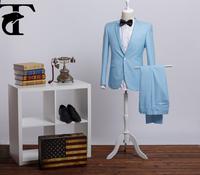 Korean Style Men's Wholesale Suit For Office Wear