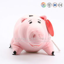 Customized promotional children handmade squeeze pig soft toys