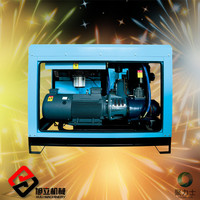 11kw/15hz portable screw air compressor for mining silent oil free air compressor