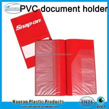 New Travel Plastic Document Holder, PVC car document organizer