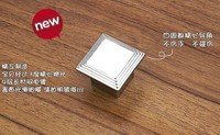 Modern kitchen cabinet knobs and handles dresser cupboard door knob pulls Bright Chrome