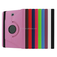 Stylus Pen+PU Rotation Leather Folding Stand Case Cover Protector For samsung galaxy tab 2 s s2 8.0 t710 t715