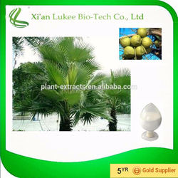Factory supply saw palmetto extract fatty acid 25%, 45% CAS No:84604-15-9
