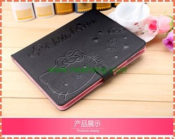 shockproof leather case for ipad 6, cartoon design tablet leather cases for ipad air 2