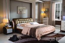 bed, luxury furniture ,charming beds bedroom furniture, wood design A282