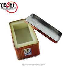 rectangle packing tin box, packing tin box supplier