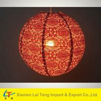 Colorful flower festival lantern fabric hanging lantern indoor decoration