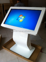 """65"""" self-service 4 point touch screen information kiosk with pc inbuilt"""