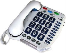 amplified telephone,corded telephone,big button telephone,big button senior telephone