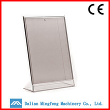 High quality clear plastic paper stand