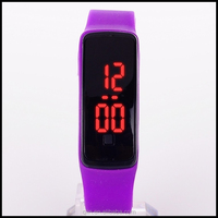 AD8089 2015 Fashionable Cheaper Waterproof Rubber Digital Silicone Led Watch For Sports