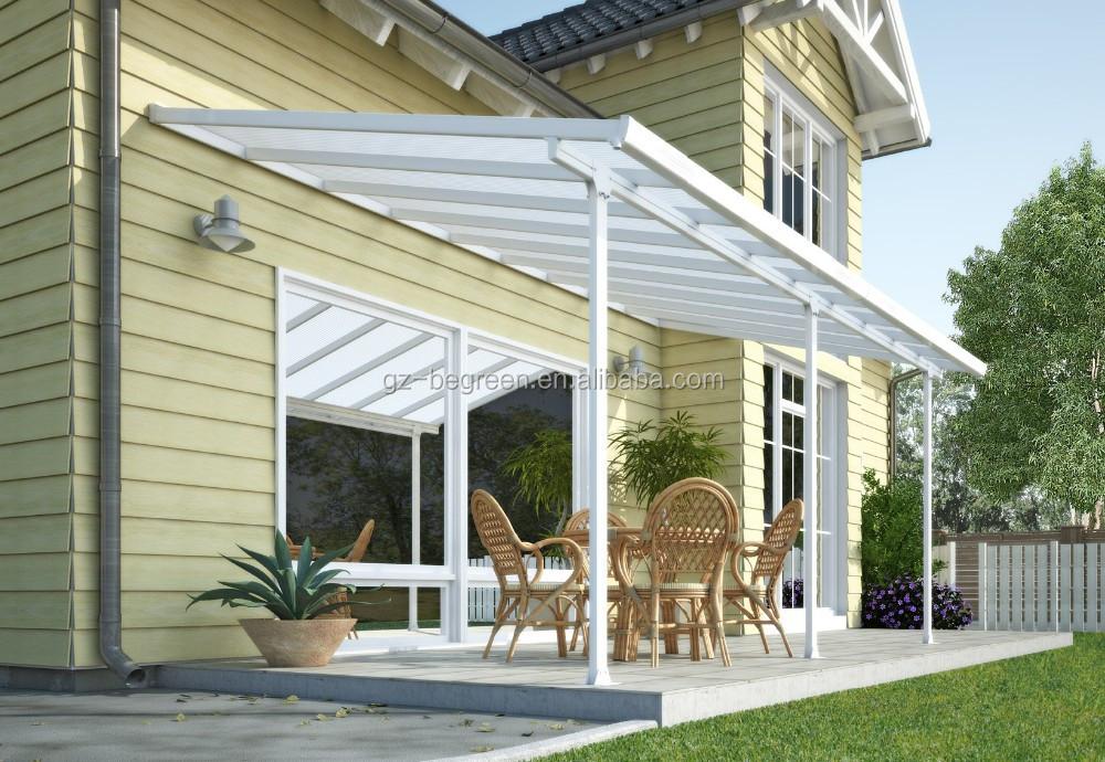 Outdoor Aluminum Garden Gazebo Pergola,Prefabricated Patio Cover,Beach ...