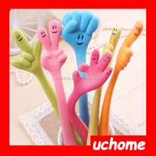 UCHOME Finger shaped silicone ball pen