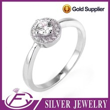 Unique design aaa cz stone pave setting 925 sterling silver horse head ring