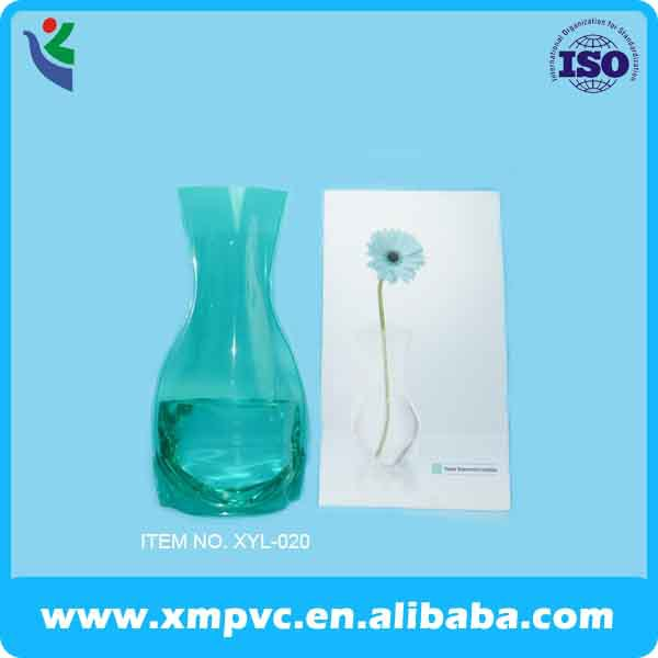 2014 foldable pvc vase for gift and promotion XYL-V070