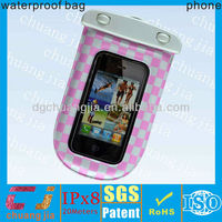 Smartphone waterproof for iphone 5 bag plastic waterproof bag