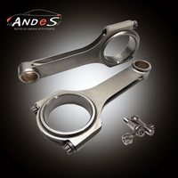 Forged 4340 I-beam Racing Conrods For Toyota Land Cruiser 1FZFE Connecting Rod