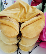 Corda ajustável dobrado chapéu de viagem neck pillow com um chapéu para adultos e crianças