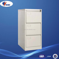 Widely Used kd Steel Hot Sale 3 Drawer Filing Cabinet
